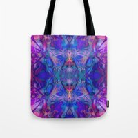 fairy tale Tote Bags featuring fairy tale by Assiyam