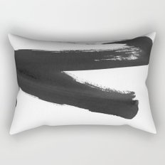 b+w strokes 5 Rectangular Pillow