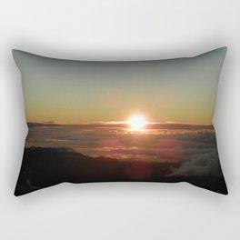 Sunrise from Mt. Haleakala Rectangular Pillow