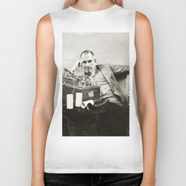 Steve Jobs As Edison Biker Tank