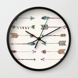 12 arrows Wall Clock