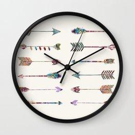 12 arrows Wall Clock