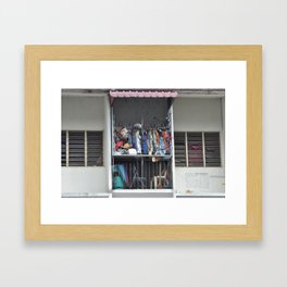 In Malaysia Framed Art Print