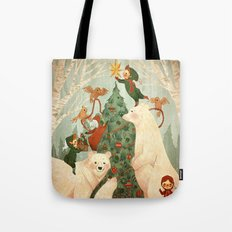 Christmas Card 2014 Tote Bag