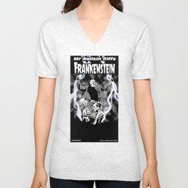Nailsin Riffs Frankenstein Unisex V-Neck