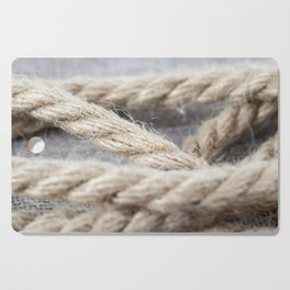 thick braided rope Cutting Board
