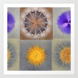 Sarcophagi Woof Flowers  ID:16165-112239-34720 Art Print