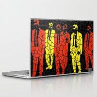 """reservoir dogs Laptop & iPad Skins featuring """"Reservoir Dogs"""" Unique mosaic  by mosaics-design.com"""