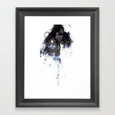 Ashes of a constellation Framed Art Print