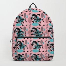 Zebra pattern Backpack