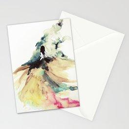 Rainbow dress Stationery Cards