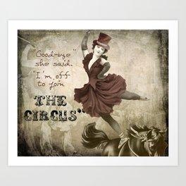 Join the Circus Art Print