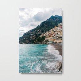 Rainy Positano XII Metal Print
