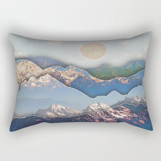 Rolling Mountains Rectangular Pillow