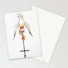 Winged Cat  Stationery Cards