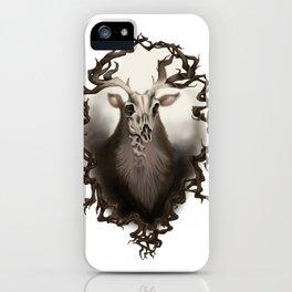 Corvus Cervus Lepus Series - Axis iPhone Case