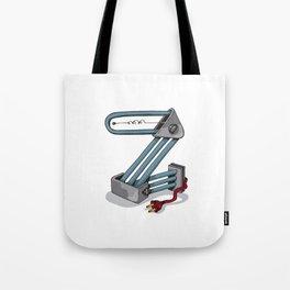 MACHINE LETTERS - Z Tote Bag