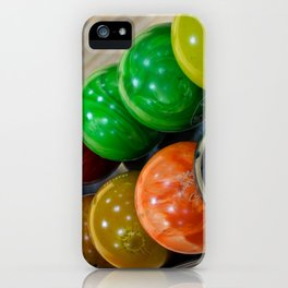 Bowling Balls iPhone Case