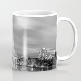 The Mississippi River Night Scene Coffee Mug