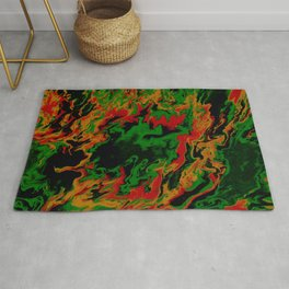 Forest Fire Rug