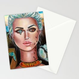 Memories of Dali Fantasy Surrealism by Laurie Leigh Stationery Cards