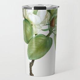 Magnolia (magnolia glauca) from Traite des Arbres et Arbustes que lon cultive en France en pleine te Travel Mug