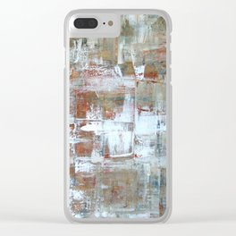 Rocks of Ages Clear iPhone Case