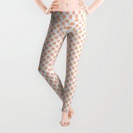 Prairie Sunset Polka Dots Leggings