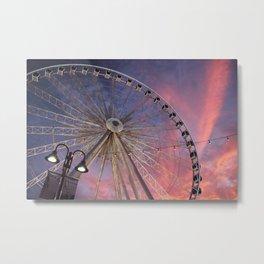 Niagara SkyWheel Metal Print