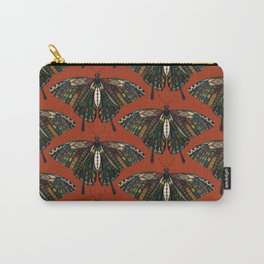 swallowtail butterfly terracotta Carry-All Pouch