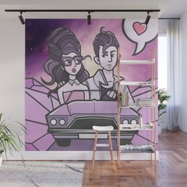 LOVE YOU LIKE A LOVE SONG Wall Mural