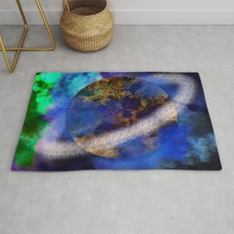 Planet of the last titans Rug