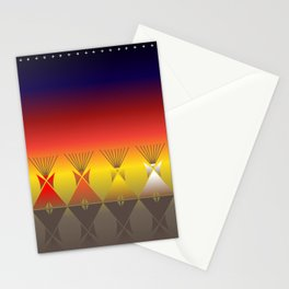 Night Tipi Stationery Cards