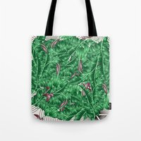 Tote Bags featuring tropical nature by mark ashkenazi