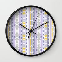 southwest Wall Clocks featuring Southwest by Kara Peters