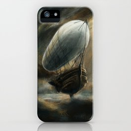 Flight to Neverland iPhone Case