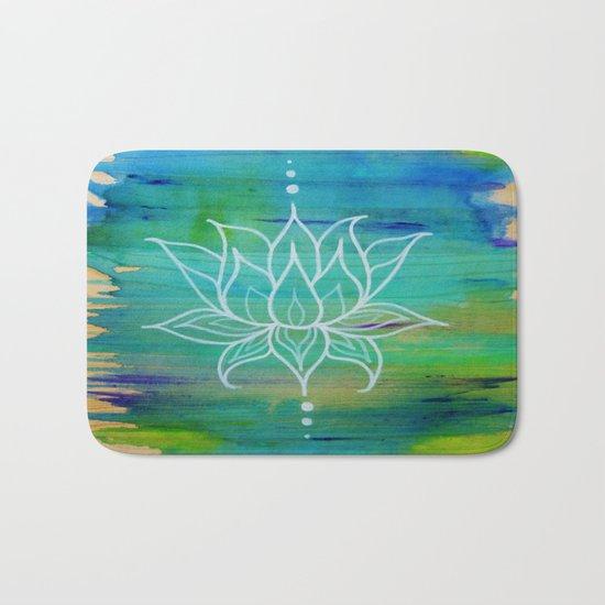 Lotus Love Bath Mat