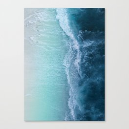 Turquoise Sea Canvas Print