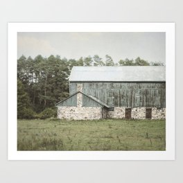 Farm Life Art Print