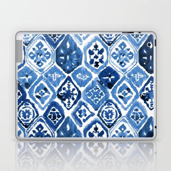 Arabesque tile art Laptop & iPad Skin