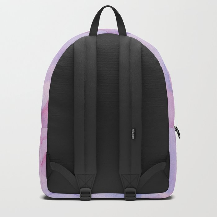 Pink Hearts Pattern Backpack