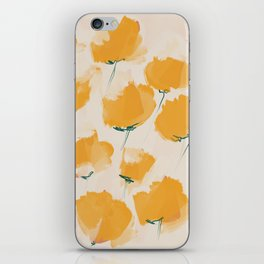 The Yellow Flowers iPhone Skin