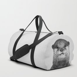 Otter - Black & White Duffle Bag