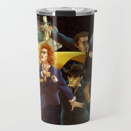 Back to the Mystery of the X-Files Travel Mug