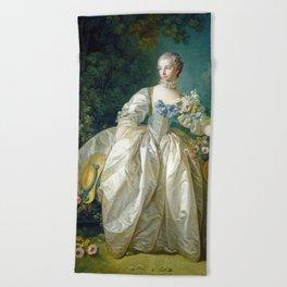 Madame Bergeret Beach Towel