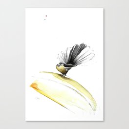 FANTAIL/ THE POSER Canvas Print