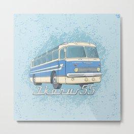 Ikarus 55 blue Metal Print