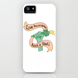 Love and Power iPhone Case