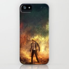 Carrying Hell iPhone Case
