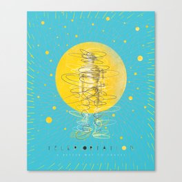 Teleportation - A Better Way to Travel Canvas Print
